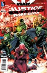 DC - Justice League Of America (New 52) # 6 Second Printing