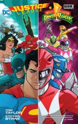 DC - Justice League Power Rangers HC