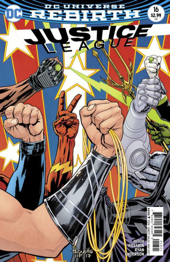 DC - Justice League # 16 Variant