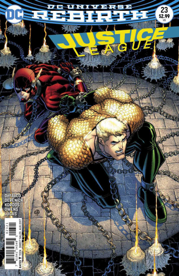 DC - Justice League # 23 Variant