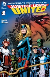 DC - Justice League United (New 52) # 1
