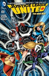 DC - Justice League United (New 52) # 4