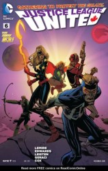 DC - Justice League United (New 52) # 6