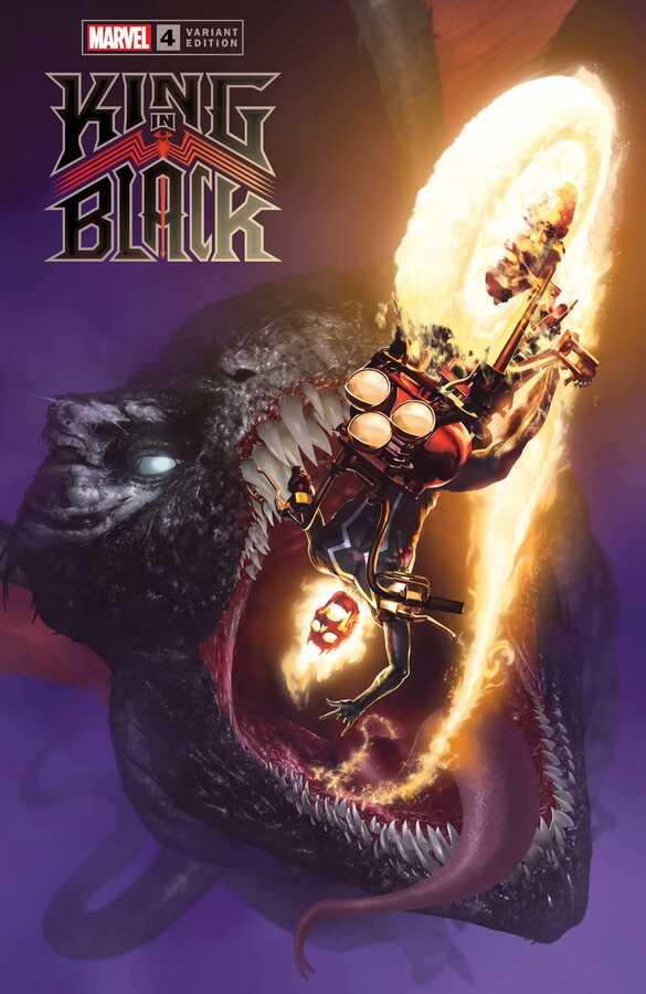 Marvel - KING IN BLACK # 4 (OF 5) 1:50 DRAGON RAHZZAH VAR