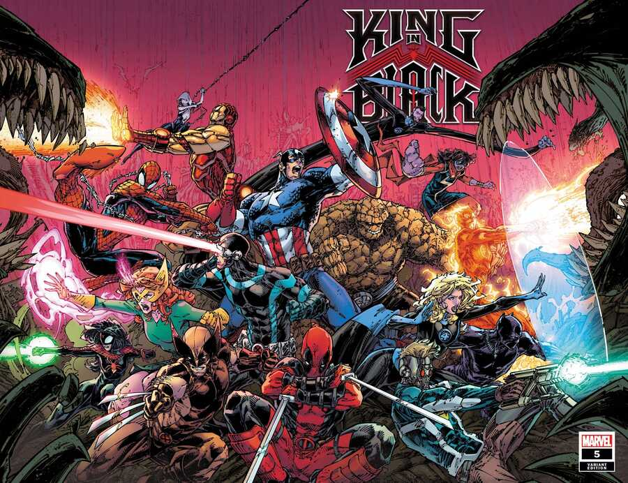 Marvel - KING IN BLACK # 5 (OF 5) BOOTH WRAPAROUND VAR