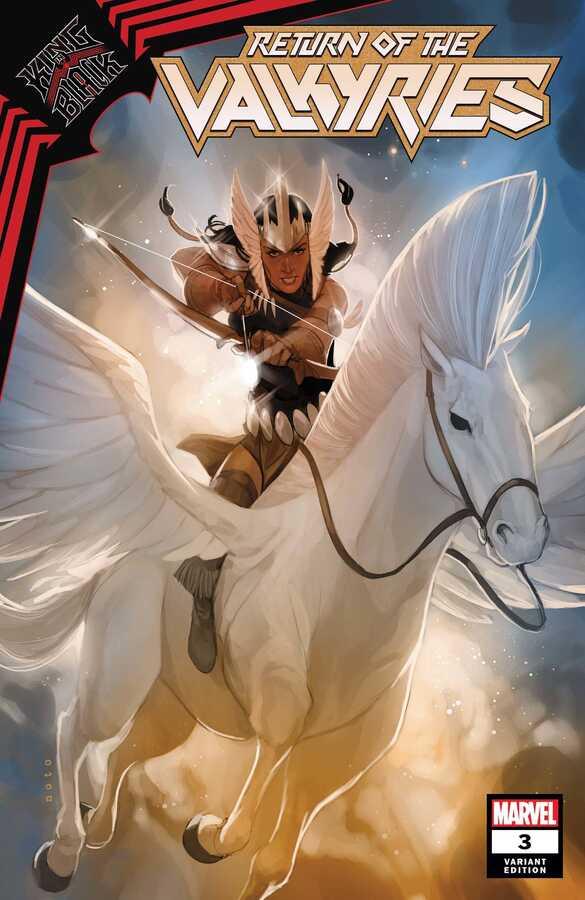 Marvel - KING IN BLACK RETURN OF VALKYRIES # 3 (OF 4) NOTO VALKYRIE PR