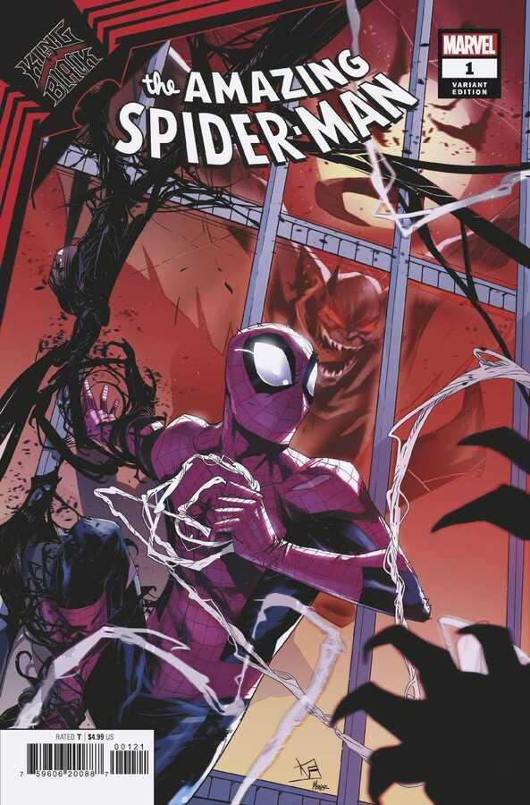 Marvel - KING IN BLACK SPIDER-MAN # 1 VINCENTINI VARIANT