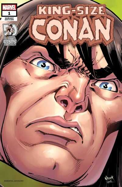 Marvel - King Size Conan # 1 Nauck Headshot Variant