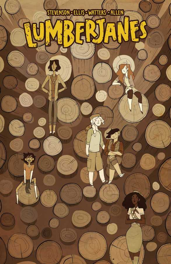 Boom - Lumberjanes Vol 4 Out Of Time TPB