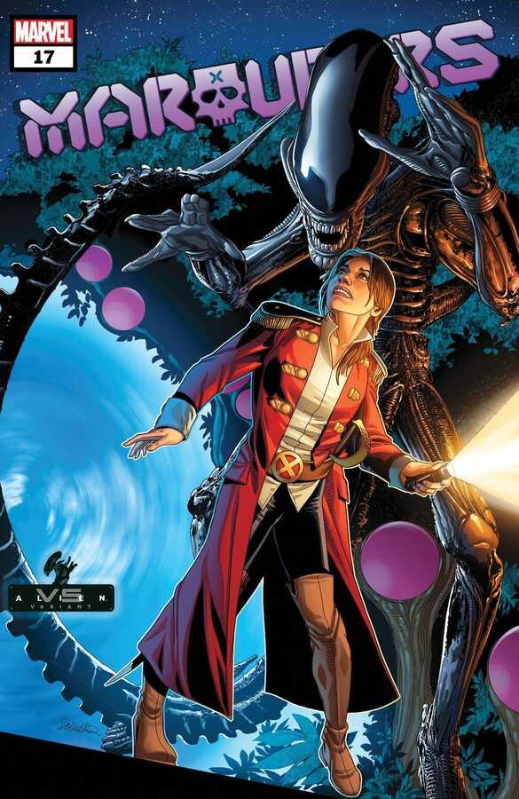 Marvel - MARAUDERS # 17 LARROCA MARVEL VS ALIEN VAR