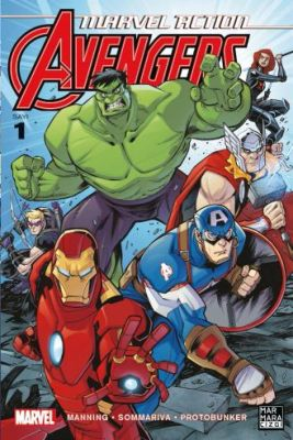 Marvel Action Avengers Sayı 1