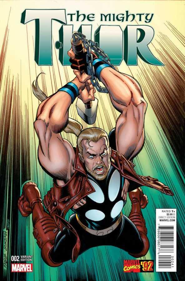 Marvel - Mighty Thor # 2 Frenz Marvel 92 Variant