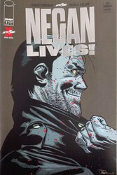 Image - Negan Lives # 1 Silver Foil Variant