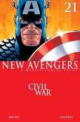 Marvel - New Avengers (2005 1st Series) # 21
