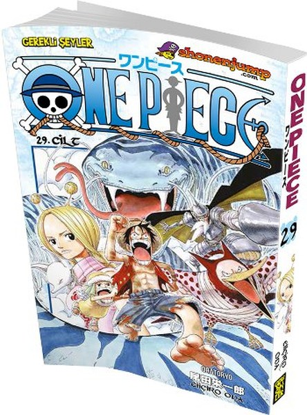 Gerekli Şeyler - One Piece Cilt 29 Orotoryo