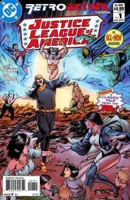 DC - Retroactive Justice League America 1980s # 1