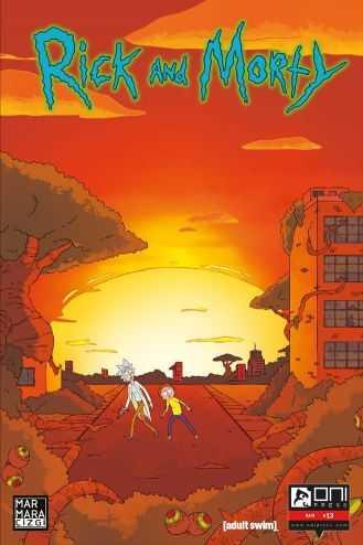 Marmara Çizgi - Rick and Morty Sayı 13