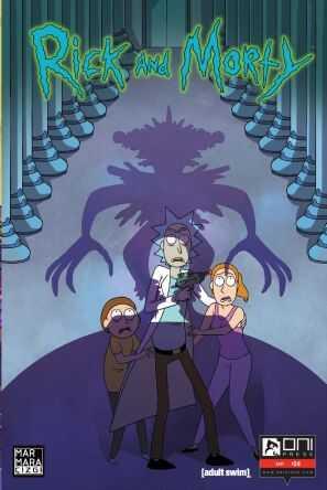Marmara Çizgi - Rick and Morty Sayı 24