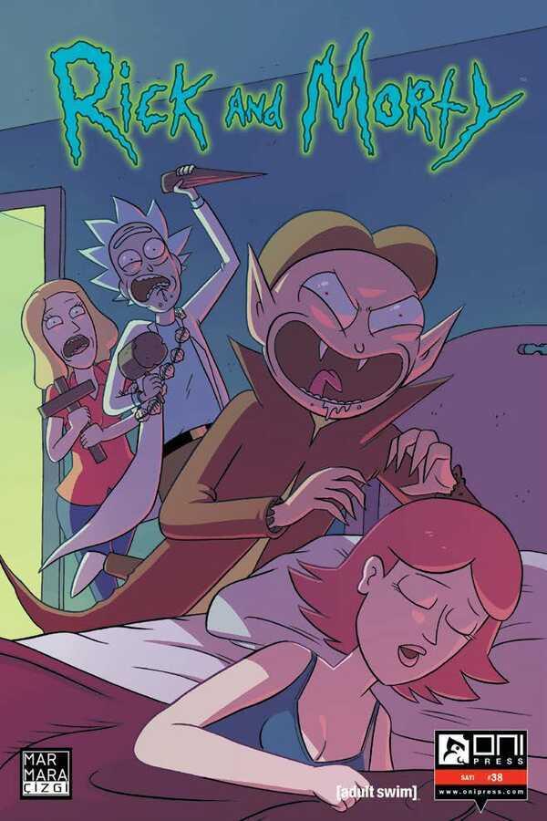 Marmara Çizgi - Rick and Morty Sayı 38