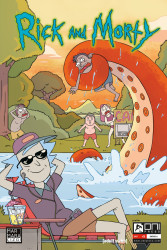 Marmara Çizgi - Rick and Morty Sayı 5 A Kapak