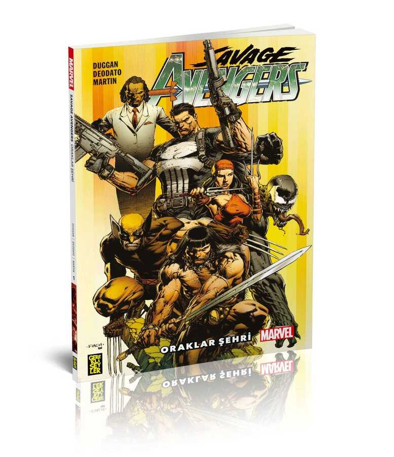 Gerekli Şeyler - Savage Avengers Cilt 1 Oraklar Şehri