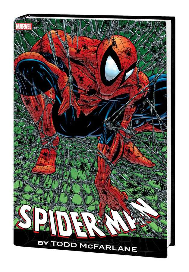 Marvel - SPIDER-MAN BY MCFARLANE OMNIBUS HC RED BLUE COSTUME