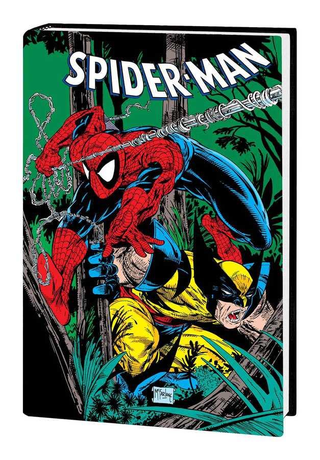 - SPIDER-MAN BY MCFARLANE OMNIBUS HC WOLVERINE