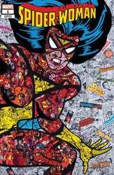 Marvel - Spider-Woman # 1 Garcin Collage Variant