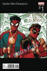 Marvel - Spider-Man Deadpool # 1 Johnson Hip Hop Variant