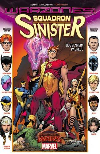Marvel - Squadron Sinister Warzones! TPB