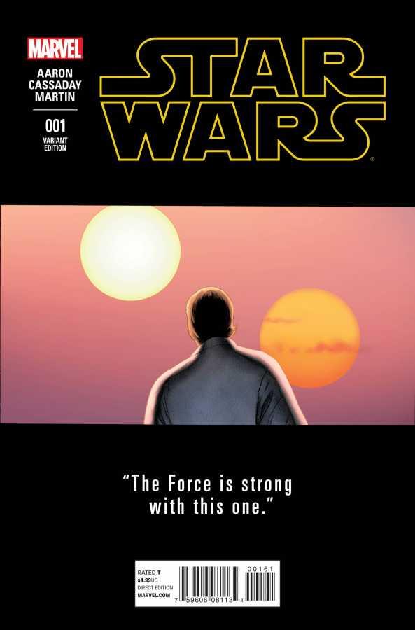 Marvel - Star Wars # 1 Cassaday Variant