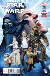Marvel - Star Wars Force Awakens Adaptation # 2
