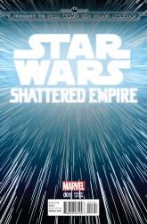 Marvel - Star Wars Shattered Empire # 1 Hyperspace Variant