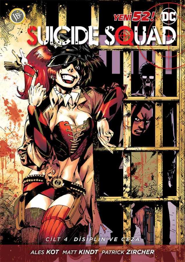 JBC Yayıncılık - Suicide Squad (Yeni 52) Cilt 4 Disiplin ve Ceza