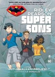 Ayrıntı - Super Sons 1. Kitap Kutup Kalkanı Projesi