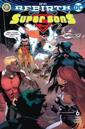 JBC Yayıncılık - Super Sons Sayı 6