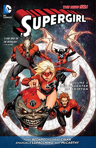 DC - Supergirl (New 52) Vol 5 Red Doughter of Krypton TPB