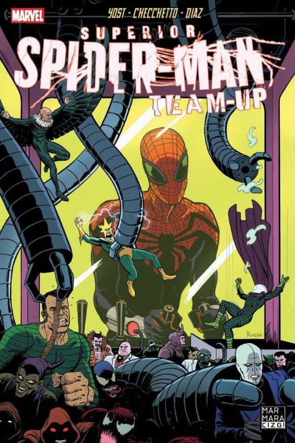 Marmara Çizgi - Superior Spider-Man Team-Up Sayı 6