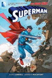 DC - Superman (New 52) Vol 3 Fury At Worlds End TPB