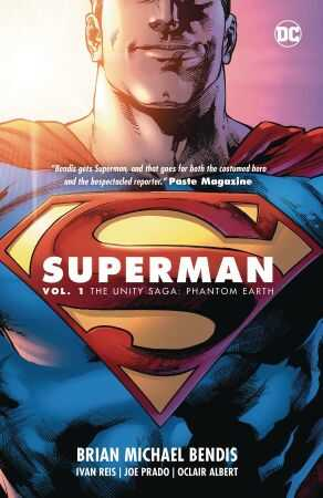 DC - Superman Vol 1 Unity Saga Phantom Earth HC