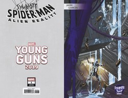 Marvel - Symbiote Spider-Man Alien Reality # 1 Garron Young Guns Variant