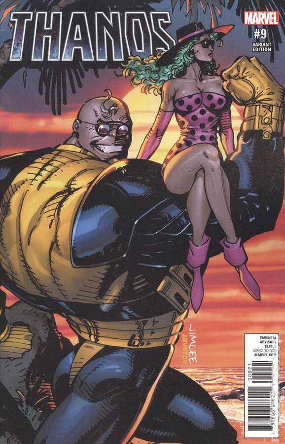 Marvel - Thanos (2016) # 9 Variant