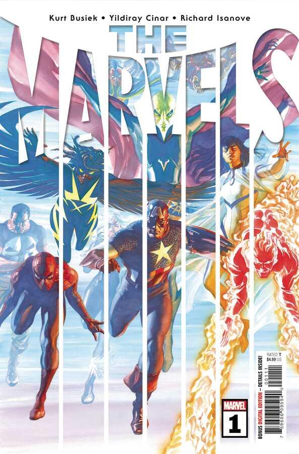 Marvel - THE MARVELS # 1