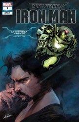 Marvel - Tony Stark Iron Man # 1 Undersea Armor Variant