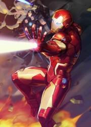 Marvel - Tony Stark Iron Man # 12 Nexon Marvel Battle Lines Variant
