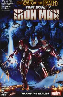 Marvel - Tony Stark Iron Man Vol 3 War Of The Realms TPB