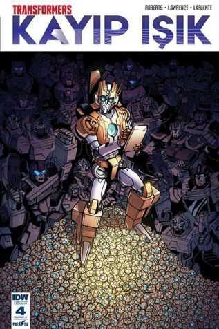Presstij - Transformers Kayıp Işık Sayı 4 A Kapak
