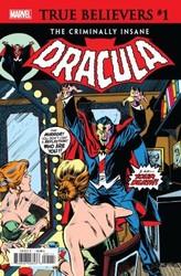 Marvel - True Believers Criminally Insane Dracula # 1