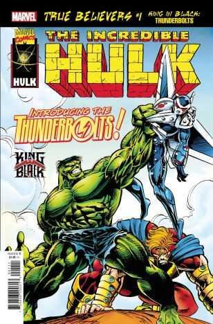 Marvel - True Believers King In Black Thunderbolts # 1