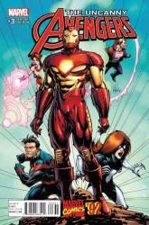 Marvel - Uncanny Avengers # 3 Portacio Marvel 92 Variant